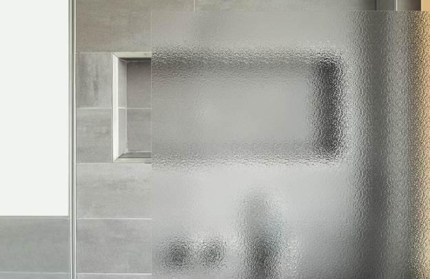Структурированное стекло для душевых кабин